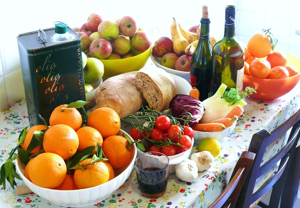 la dieta mediterranea spiegata ai bambini