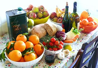 Mediterranean diet Diet inspired by 1960s eating habits of Spain, Italy, and Greece