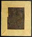 Daguerreotype dated 1 September 1849 - reverse of plate (14045042993).jpg