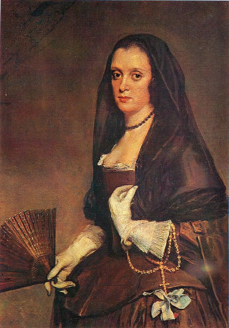 Dama con abanico, by Diego Velázquez.jpg