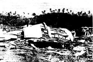 Typhoon Karen - Nearly every building suffered damage to some degree, especially non-permanent structures which were mostly destroyed.