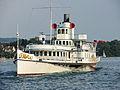 Dampfschiff Stadt Rapperswil - Bürkliplatz 2013-07-20 19-24-41 (P7700).JPG