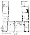 Damsgaard hovedgaar detaljplan foerste etage.png