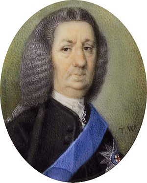Daniel Finch, 8th Earl of Winchilsea - Daniel Finch (1689-1769), 8th Earl of Winchilsea, 3rd Earl of Nottingham (Thomas Worlidge)