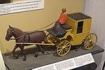 Danmarks Jernbanemuseum - Model af postvogn.jpg