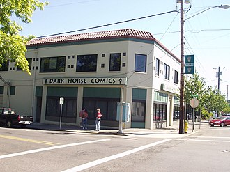 Milwaukie, Oregon - Dark Horse Comics headquarters