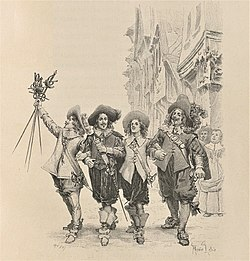 D'Artagnan and the Musketeers