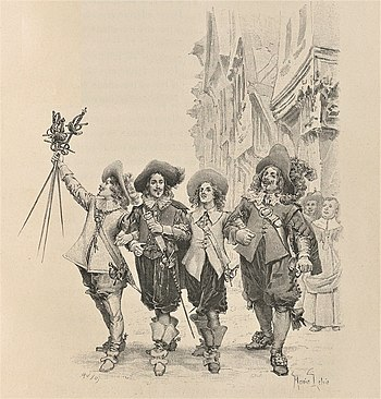 English: The Three Musketeers by Alexandre Dum...