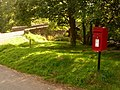 Dartmeet, postbox No. PL20 469 - geograph.org.uk - 1466669.jpg