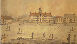 Amos Kendall - Dartmouth College in the early 1800s