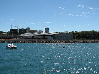 Darwin Convention Centre - Darwin Convention Centre in June 2008