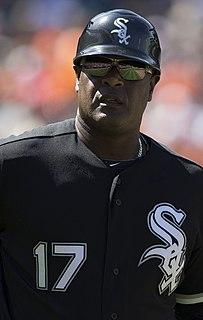 Daryl Boston American baseball player & coach