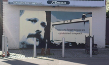 David Ervine commemorated in a mural painted at Montrose Street South, Albertbridge Road, east Belfast