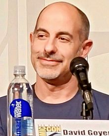 Goyer at the San Diego Comic-Con, 2013