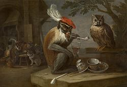 David Teniers the Younger: Monkey Trick