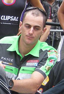 Australian race car driver