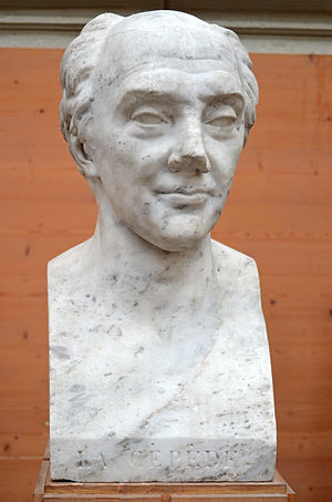 Bernard Germain de Lacépède - Bust of Bernard-Germain de Lacépède by David d'Angers (1824).
