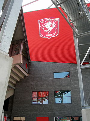 FC Twente - De Grolsch Veste corner from the outside.