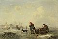 De Newa bij Sint Petersburg (Leningrad) in de winter Rijksmuseum SK-C-304.jpeg