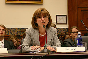 Debra L. Ness - Ness testifying at a U.S. congressional hearing on FMLA, July 2009