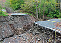 Deep gorge created in road after Hurricane Irene flooding, Oliverea, NY.jpg