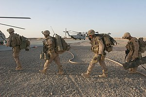 2nd Battalion, 8th Marines - Marines in Afghanistan, July 2009