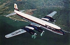 Douglas DC-7B компании Delta Air Lines, аналогичный разбившемуся