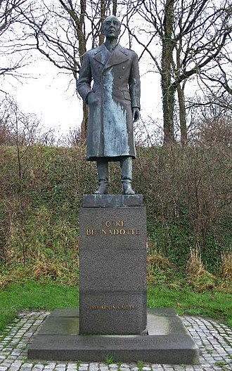 Count of Wisborg - A monument to Folke Bernadotte in Denmark.