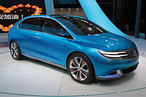 Denza - Denza all-electric concept car at Auto Shanghai 2013