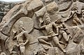 Descent of the Ganges, Pallava period, 7th century, Mahabalipuram (28) (37215339640).jpg
