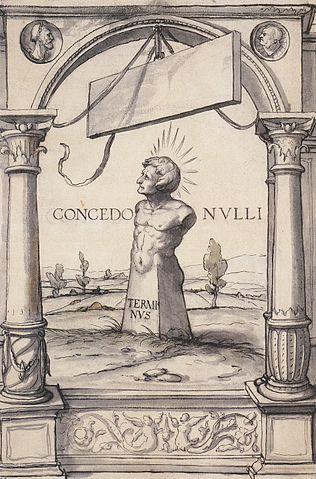 Terminus, God of Boundaries.  Concedo nulli.