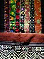 Detail of Tai Lue Weaving - Lanna Folklife Museum - Chiang Mai - Thailand - 01 (34293540484).jpg