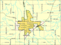Detailed map of Garnett, Kansas.png