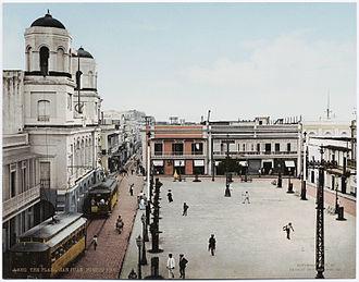 San Juan, Puerto Rico - La Plaza, San Juan, ca. 1900