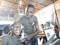 Deux formateur wikmédiens du Bénin mois de la contribution à parakou.jpg