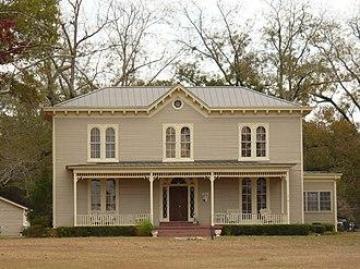 Dickinson House (Grove Hill, Alabama) - The Dickinson House in 2008