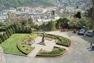 Dillenburg - View of the town looking south from Wilhelmsturm tower