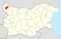 Dimovo Municipality Within Bulgaria.png