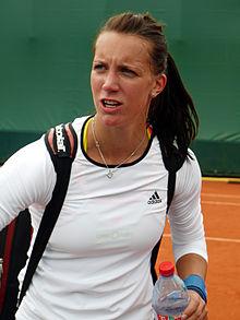 Dinah Pfizenmaier à l'Open de France 2013 2.jpg