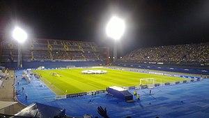 2012–13 NK Maribor season - Dinamo Zagreb and Maribor moments before kick-off on 22 August 2012