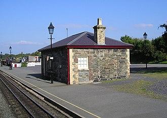 Dinas railway station - Original NWNGR station building of 1877