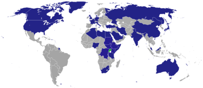 List of diplomatic missions of Uganda - Wikipedia, the free ...