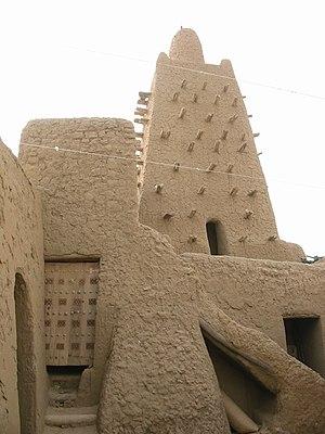 Cour de la mosquée de Djingareiber, Tombouctou