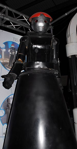 Bad Wolf - The 'Anne Droid', on display at the Doctor Who Experience.