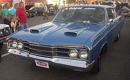 Una Dodge Polara coupé del 1967