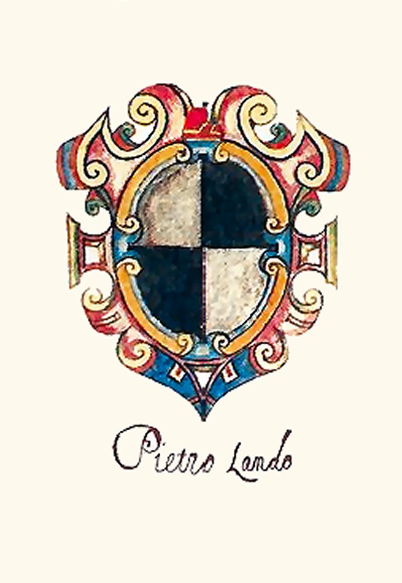 Armoiries de Pietro Lando