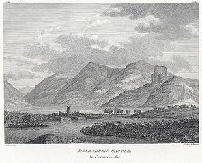 Dolbadern i.e Dolbadarn Castle in Caernarvon-shire
