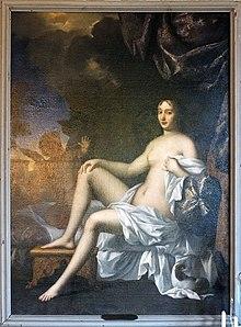 Portrait de Françoise Scarron peint par Louis de Mornay.