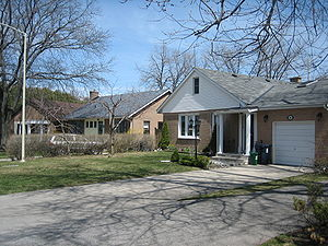 Don Mills - Ranch-style houses are some of the most common houses in Don Mills