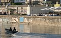Donaukanal U-Bahn-Schottenring Tel Aviv Beach 2012.jpg